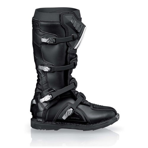 BOTAS ACERBIS GRAFFITI ALL BLACK/WHITE black T.47