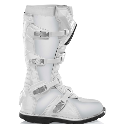 BOTAS ACERBIS GRAFFITI ALL BLACK/WHITE white T.47