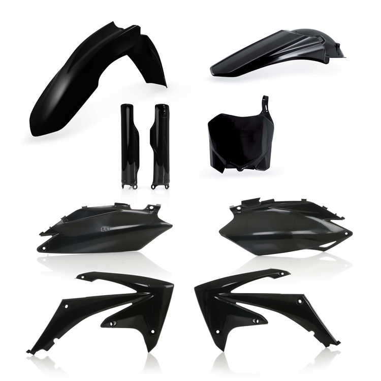 KIT DE PLASTICOS ACERBIS FULL HONDA CRF250-450 2011 black