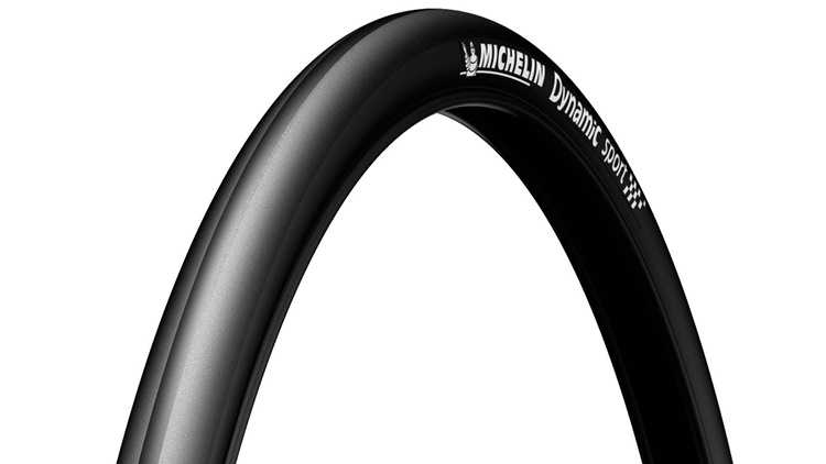 CUBIERTA MICHELIN 23-622 (700X23C) DYNAMIC SPORT Black