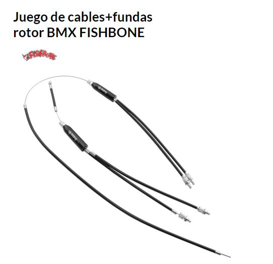 CABLE-FUNDA ROTOR BICICLETA JUEGO