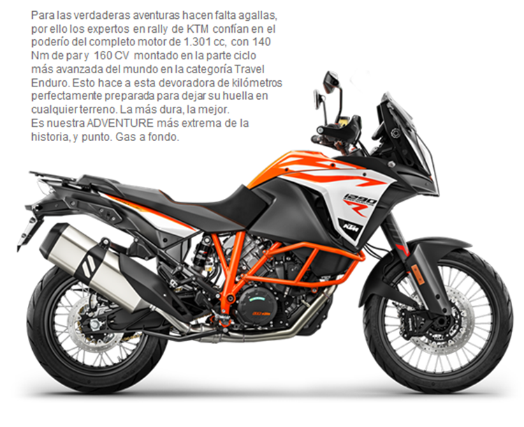 MOTO KTM 1290 SUPER ADVENTURE R 18
