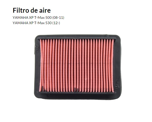 FILTRO AIRE YAMAHA TMAX 500 08 11