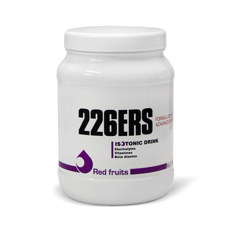 226ERS ISOTONIC DRINK RED FRUITS 500GR