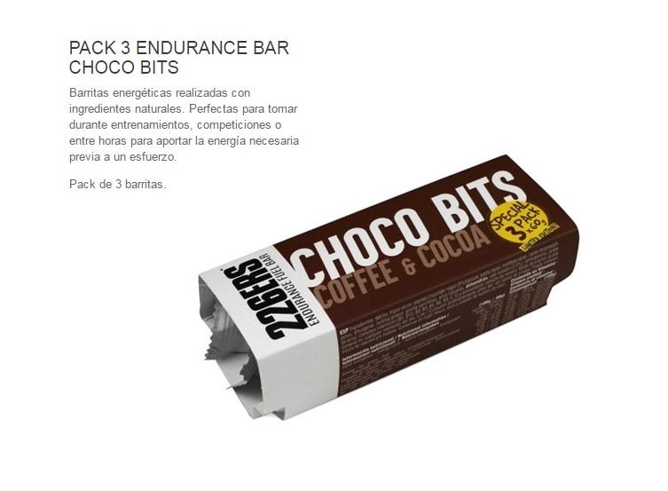 226ERS CHOCO BITS BAR 60GR COFFE&COCOA PACK 3U.