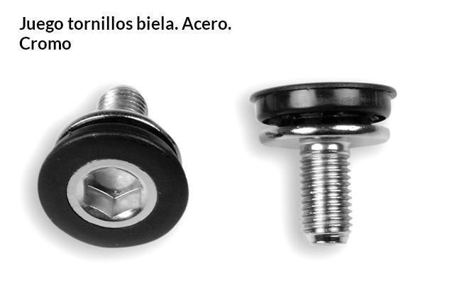 TORNILLO PEDALIER BICICLETA TIPO SHIMANO JUEGO