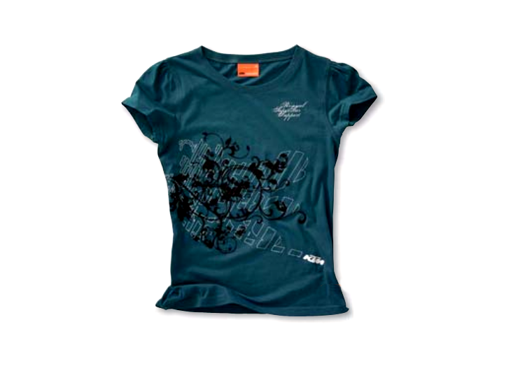 CAMISETA KTM CHICA STAR SUPPORT XL