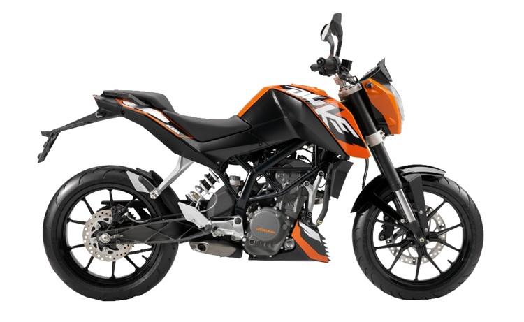 MOTO EN MINIATURA KTM DUKE 125
