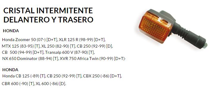 CRISTAL INTERMITENTE 7141 DELANTERO/TRASERO
