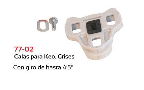 CALAS TKX COMP. LOOK KEO GRIS KIT