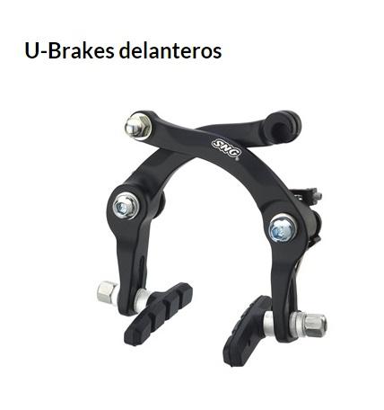 FRENO BICICLETA U-BRAKE DELANTERO BMX NEGRO
