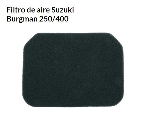 FILTRO AIRE SUZUKI BURGMAN 250