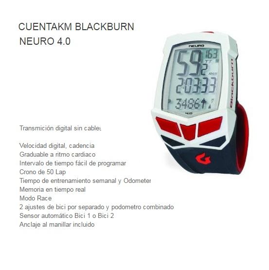 CUENTAKILOMETROS BICICLETA BLACKB NEURO 4.0