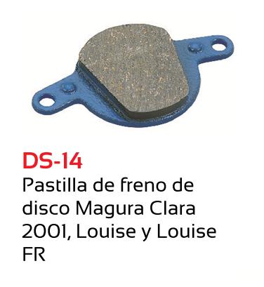 PASTILLAS FRENO BICICLETA TKX MAGURA CLARA 2001