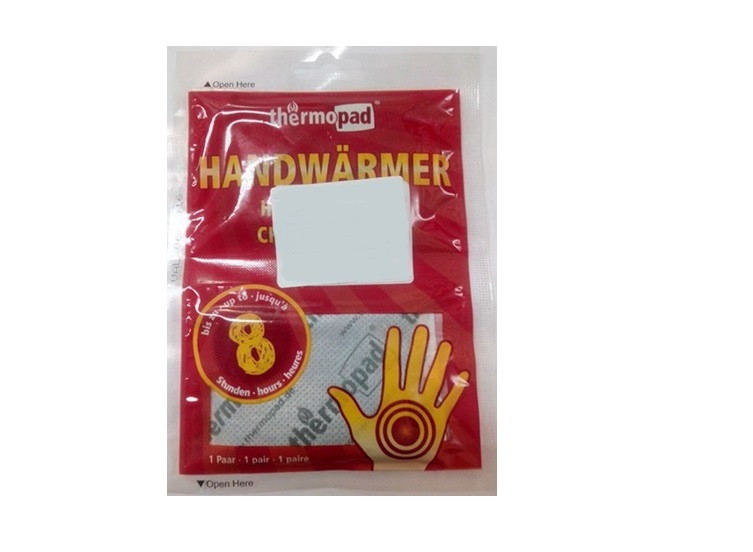 CALENTADOR MANOS THERMOPAD 92X55 MM. PAR