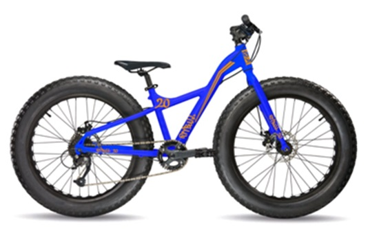 BICICLETA FAT BIKE 20 TALLA UNICA