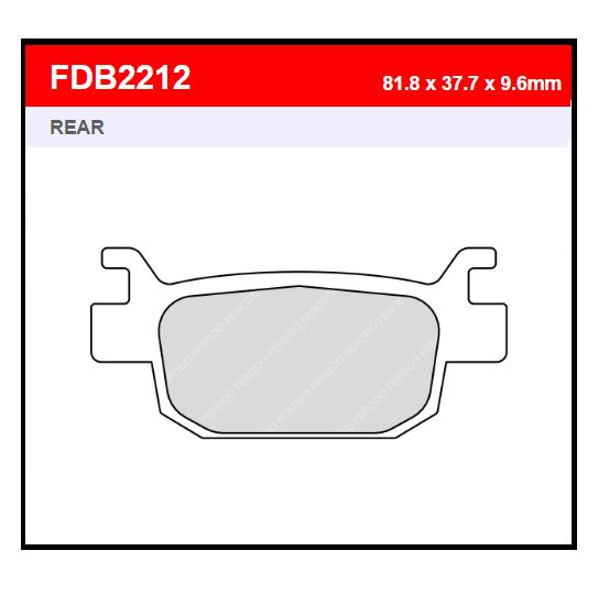 PASTILLA FERODO FDB2212EF