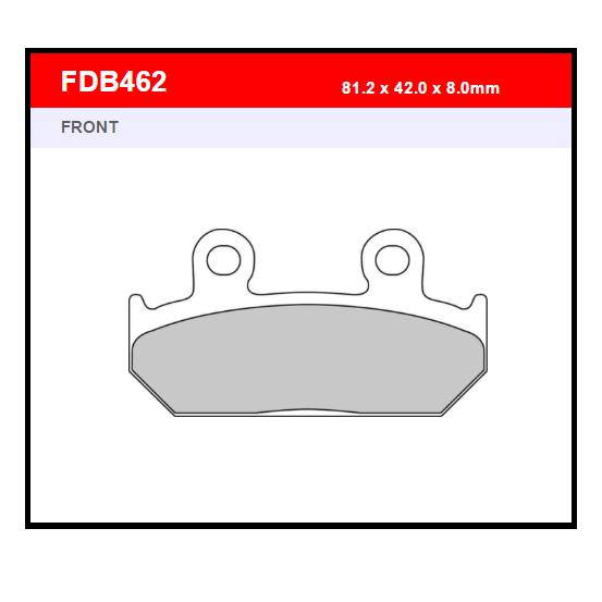 PASTILLA FERODO FDB462P