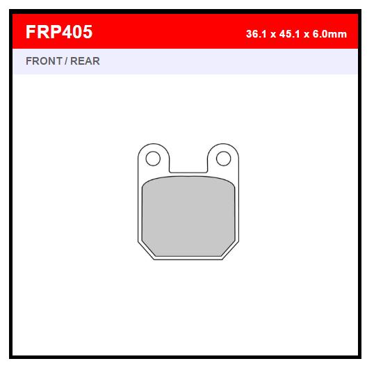 PASTILLA FERODO FRP405EF