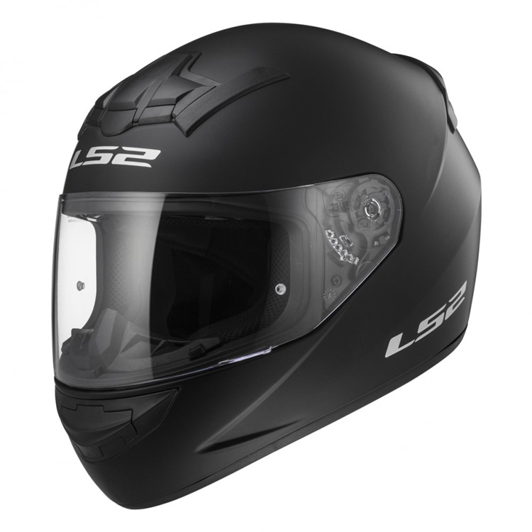 CASCO LS2 INTEGRAL ROOKIE FF352 NEGRO MATE XXS