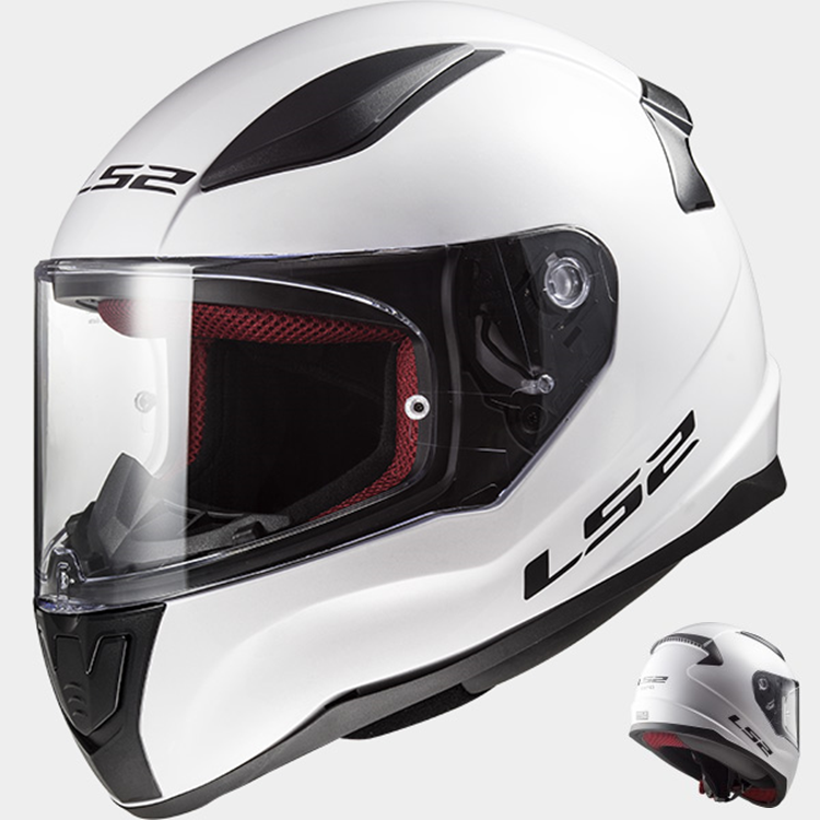 CASCO LS2 INTEGRAL RAPID FF353 BLANCO XXL
