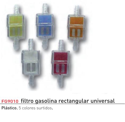FILTRO GASOLINA RECTANGULAR UNIVERSAL