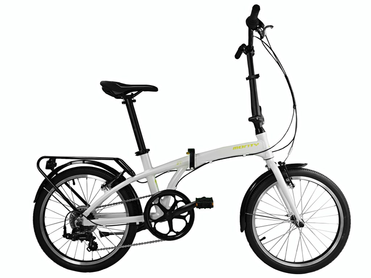 BICICLETA MONTY PLEGABLE SOURCE 20 6V BLANCO