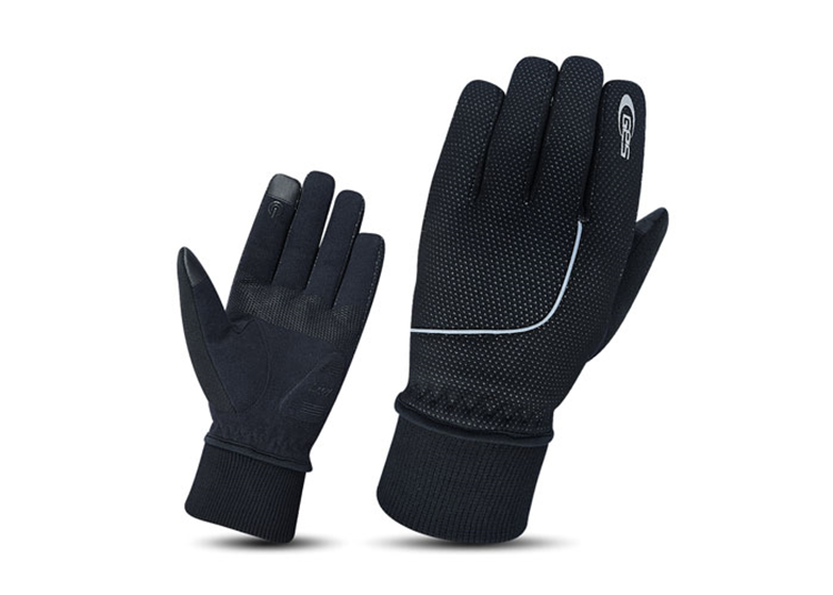 GUANTES GES COOLTECH INVIERNO NEGRO XL