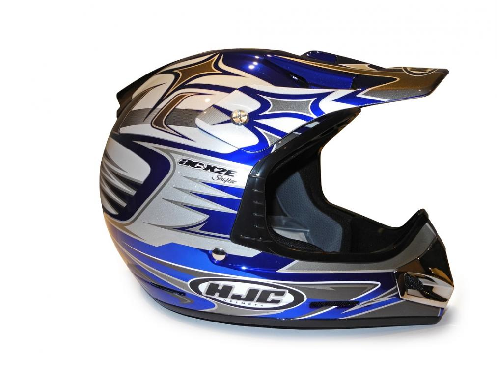 CASCO HJC CROSS ACX2E SH MC2 XL