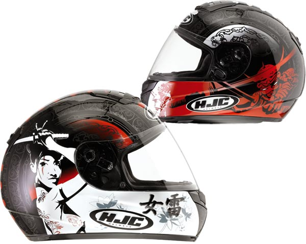 CASCO HJC INTEGRAL CSR1 SAMURAI MC1 Talla XL