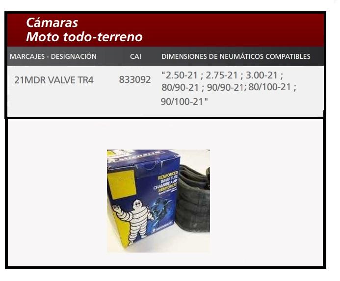 Camara 21MDR VALVE TR4-833092