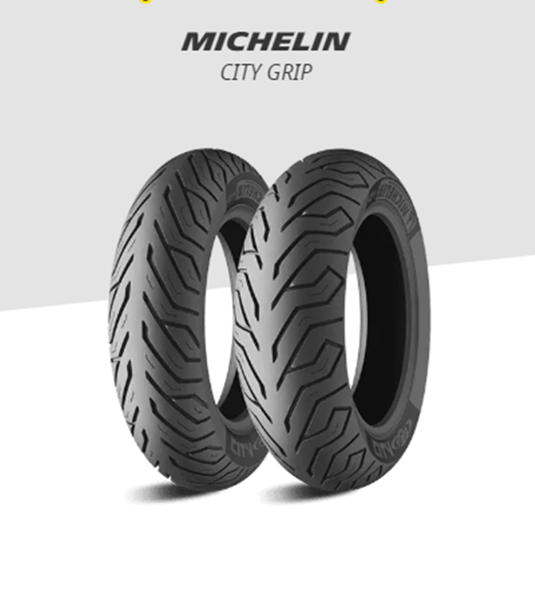 CUBIERTA MICHELIN CITY GRIP 110/90-12 64P TL