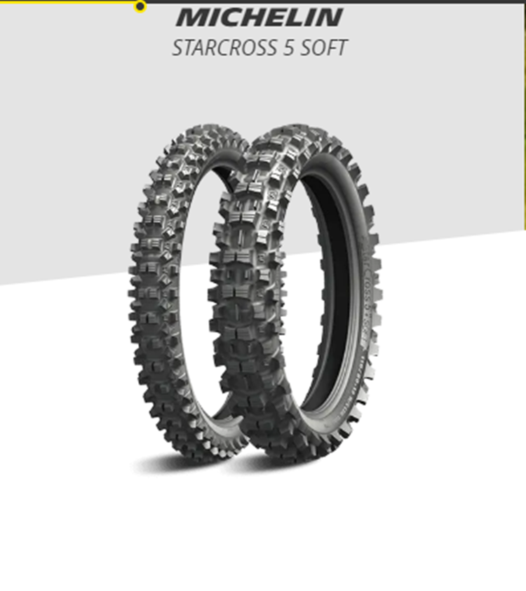 CUBIERTA MICHELIN STARCROSS 5 SOFT 120/90-18 65M R TT