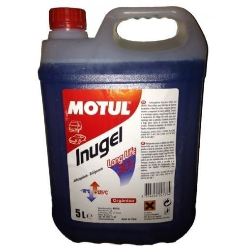 ANTICONGELANTE MOTUL INUGEL LONG LIFE 30% 5L.