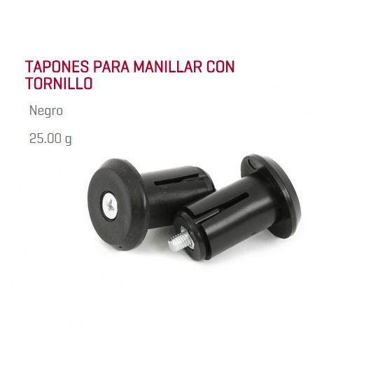 TAPON MANILLAR BICICLETA MSC CON TORNILLO JUEGO