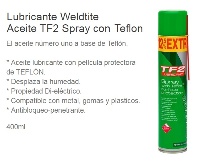 ACEITE BICICLETA SPRAY TF2