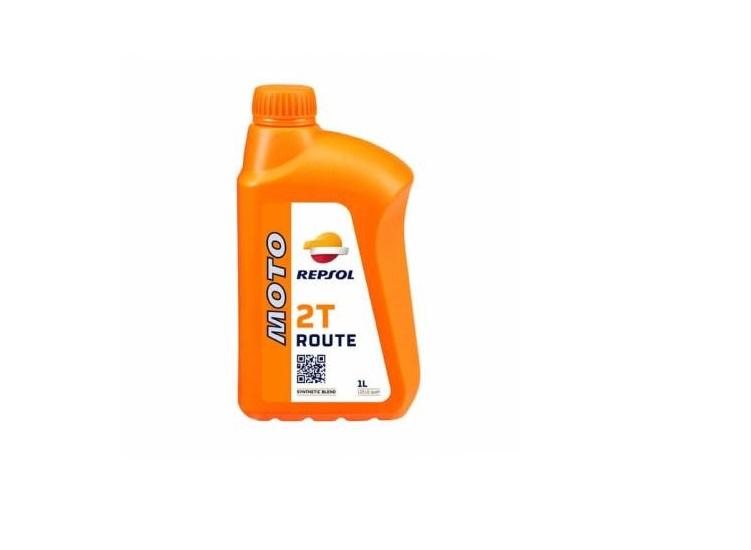ACEITE REPSOL MOTO ROUTE 2T 1L.