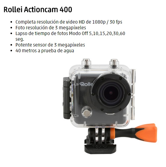 CAMARA VIDEO ROLLEI 400 FULL HD WIFI