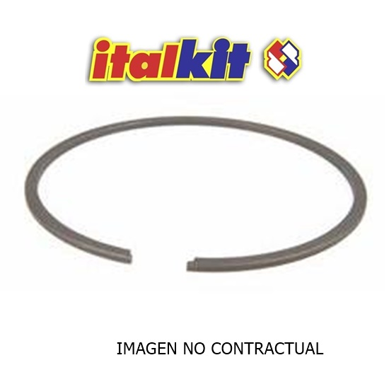 SEGMENTO PISTON ITALKIT FRESADO LATERAL 41X1,5 GRAFITADO SF.