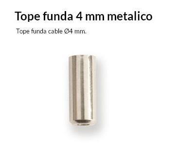 TOPE FUNDA CABLE BICICLETA 4 MM.CON JUNTA TORICA