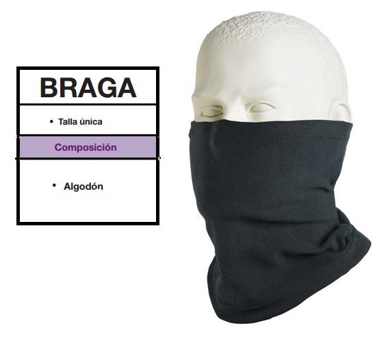 BRAGA UNIK ALGODON NEGRO