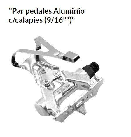 PEDALES BICICLETA CARRETERA ALUMINIO