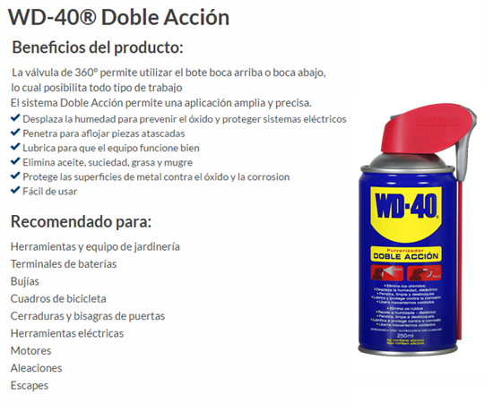 ACEITE MULTIUSOS WD-40 250 ML