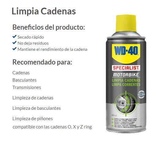 LIMPIADOR CADENA WD-40 400 ML