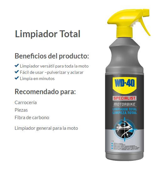 LIMPIADOR TOTAL WD-40 1L