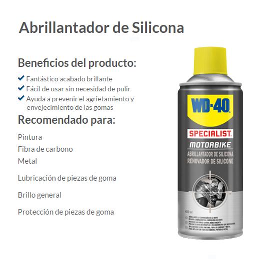 ABRILLANTADOR SILICONA WD-40 400 ML