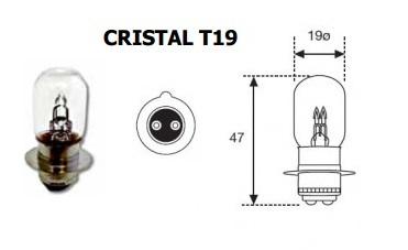 LAMPARA MOTO 12V 35W 35W PX15D3 YUPI