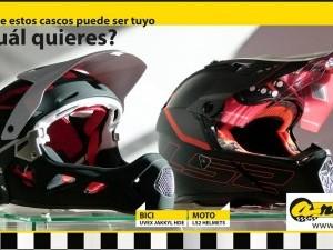 Concurso Casco en nuestro Facebook