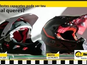 Concurso de um capacete