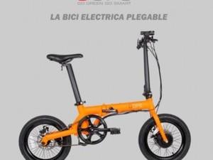 Oops Bicicleta Eléctrica Plegable